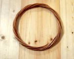 кольцо из ивы,плетеное кольцо, кольцо из лозы